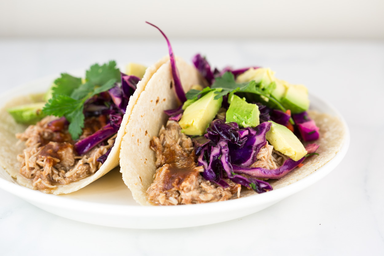 Pulled Bbq Chicken Tacos Cook Smarts