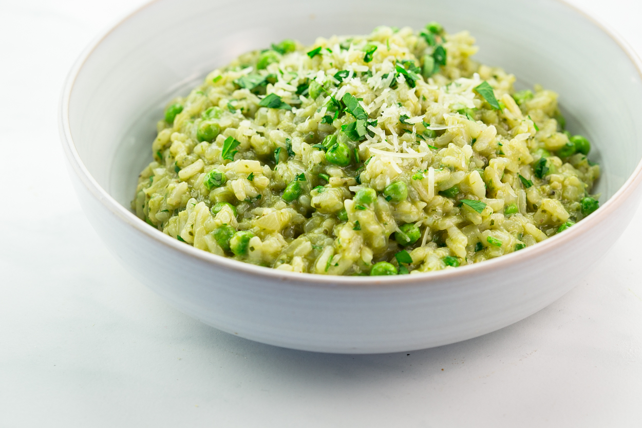 how to cook plain risotto