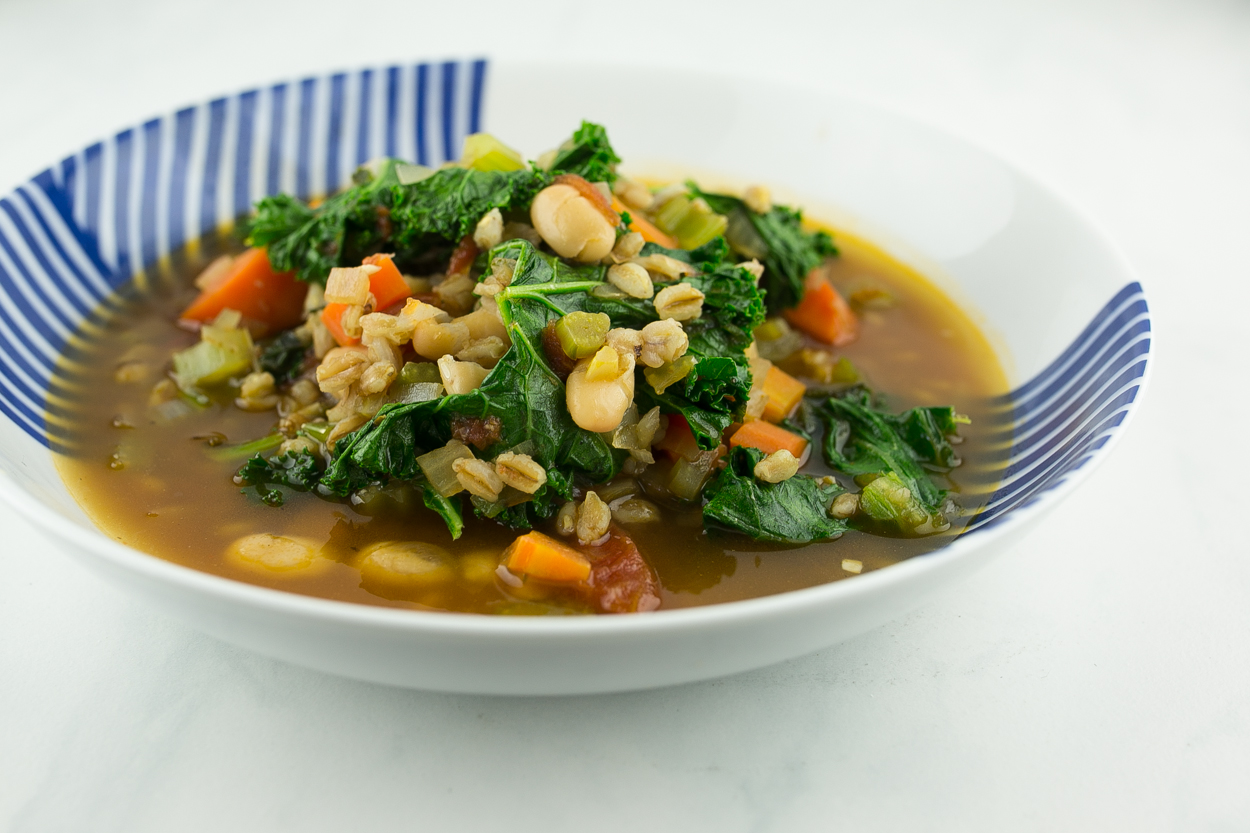Kale and Farro Soup - Cook Smarts