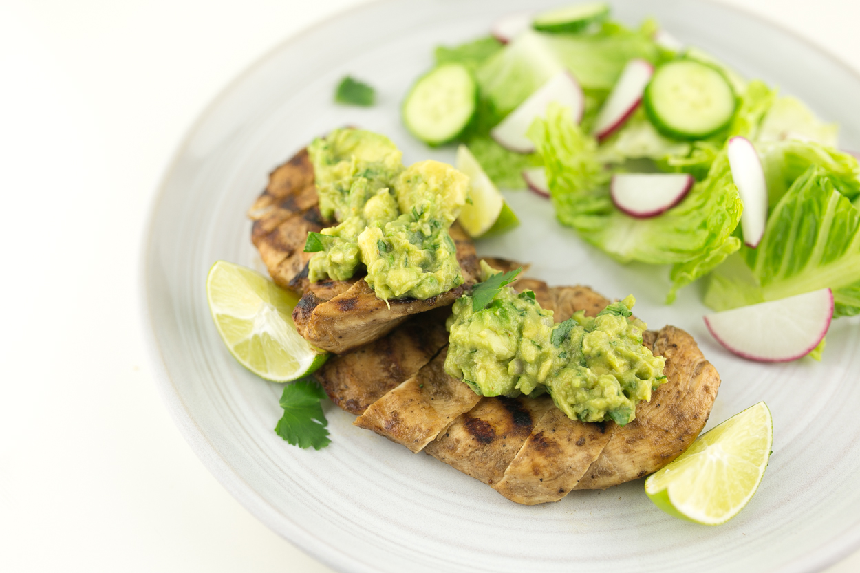Guacamole Tequila-Lime Chicken - Cook Smarts