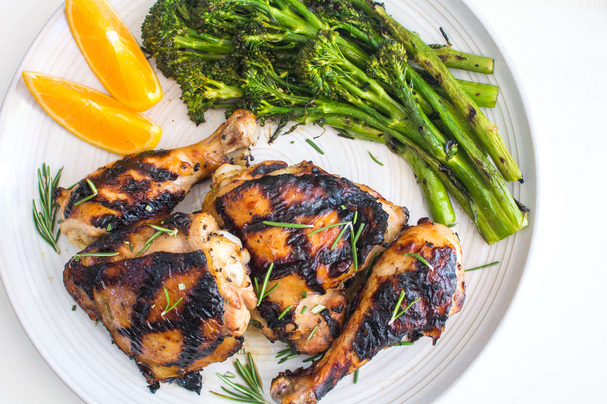 Grilled Orange-Rosemary Chicken - Cook Smarts