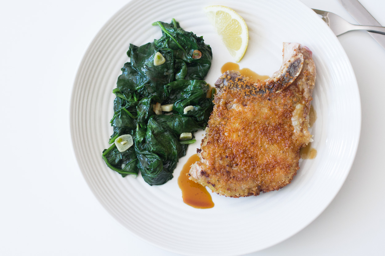 Crispy Panko Pork Chops Recipe — Dishmaps