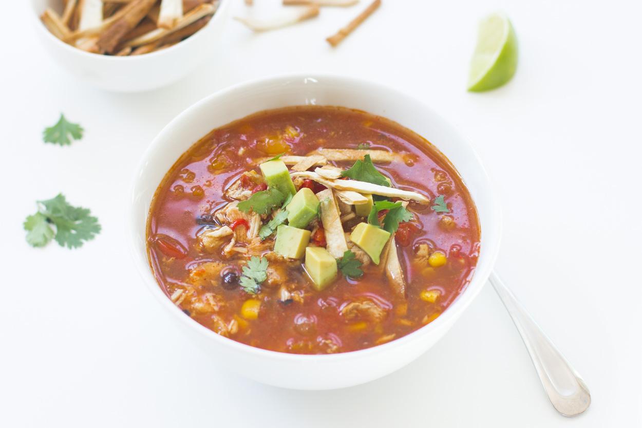 Southwestern Black Bean Soup - Cook Smarts
