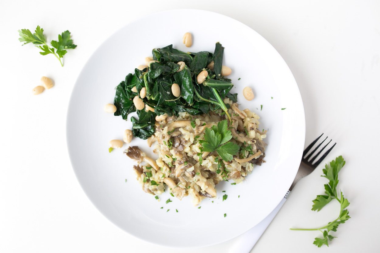 Eggs Nested In Sauteed Chard And Mushrooms Recipes — Dishmaps