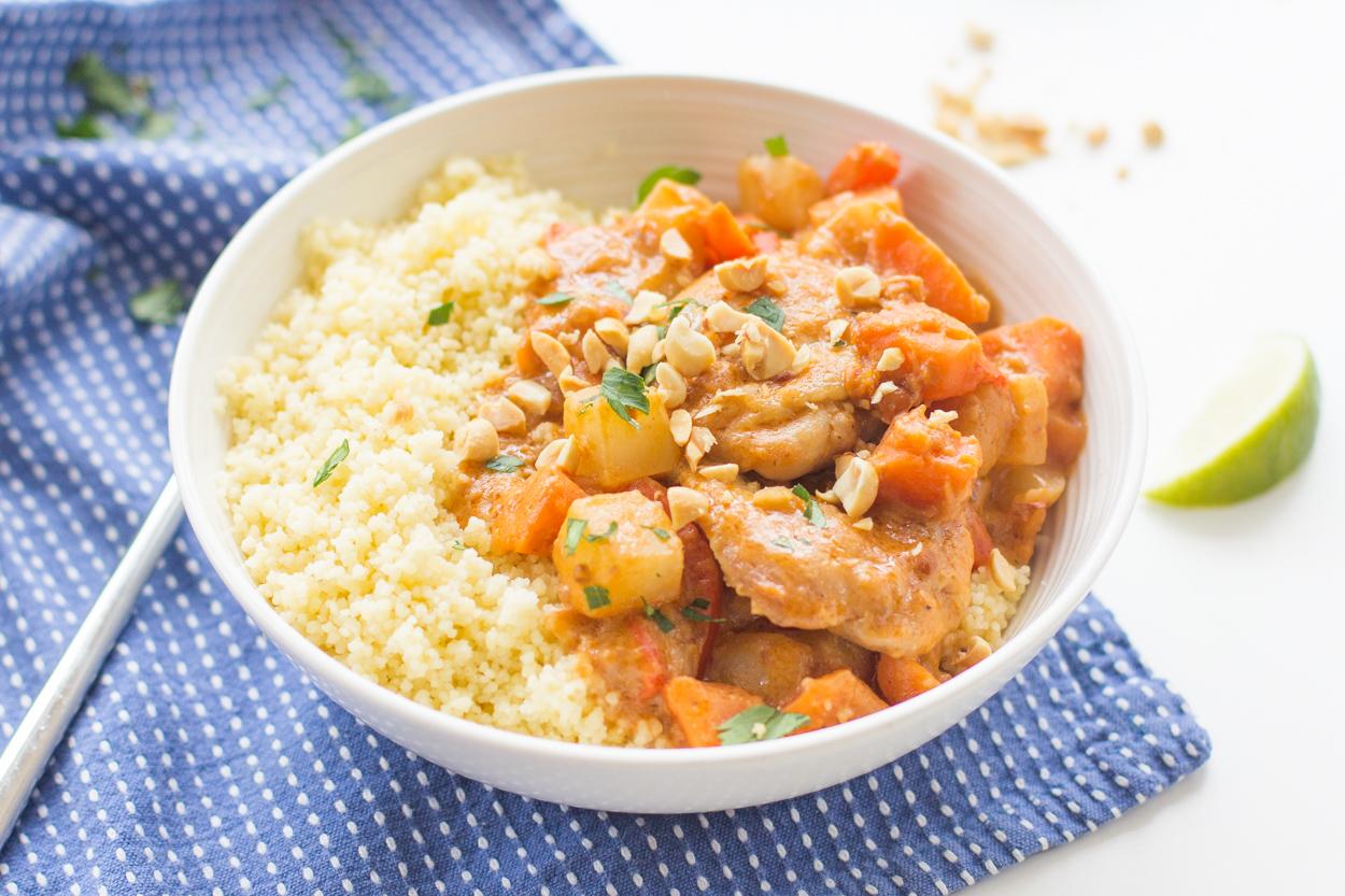 West African Chicken in Peanut Sauce (Mafe) | Cook Smarts