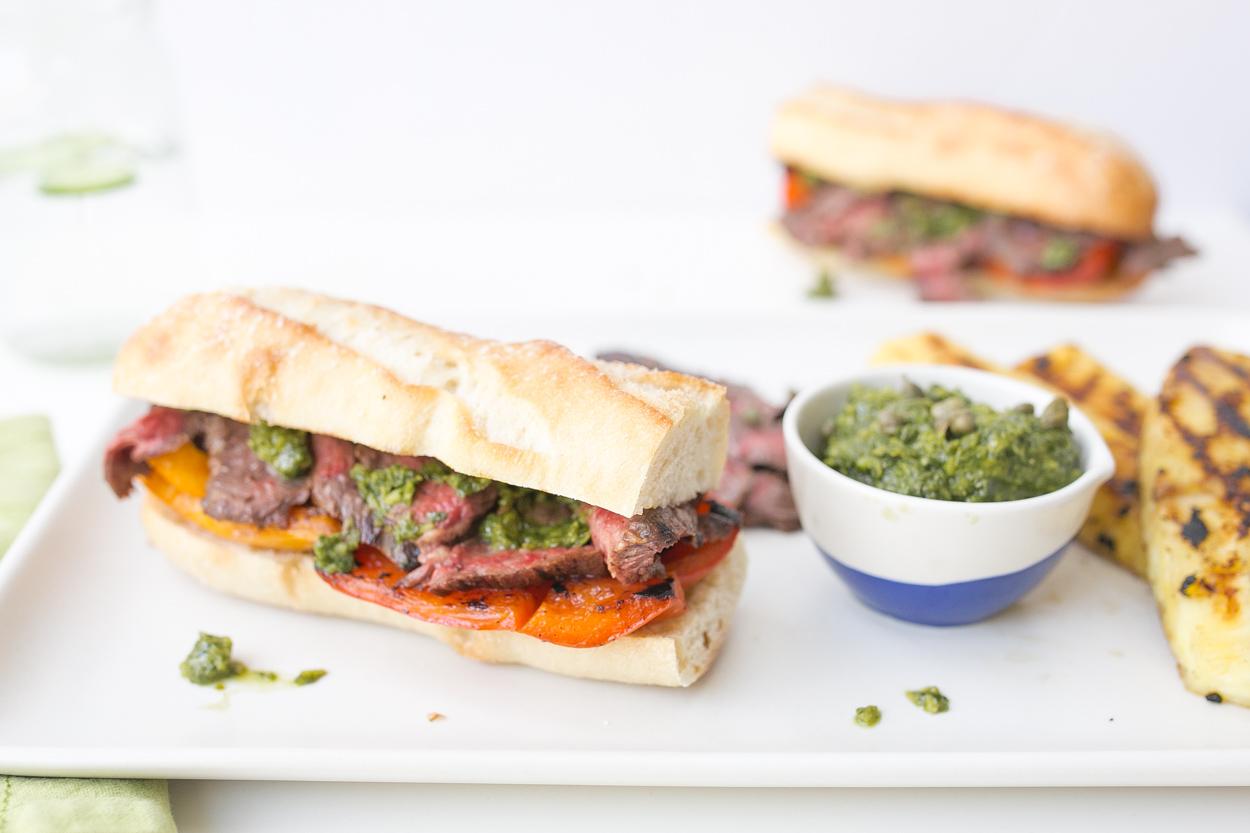 Skirt Steak Sandwiches - Cook Smarts