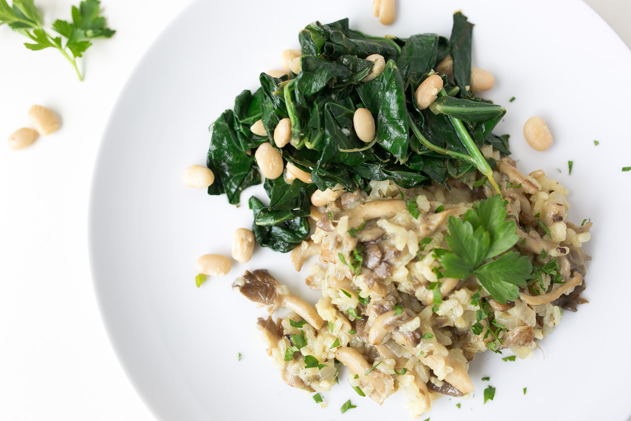 Oven-Baked Risotto with Roasted Mushrooms   Cook Smarts